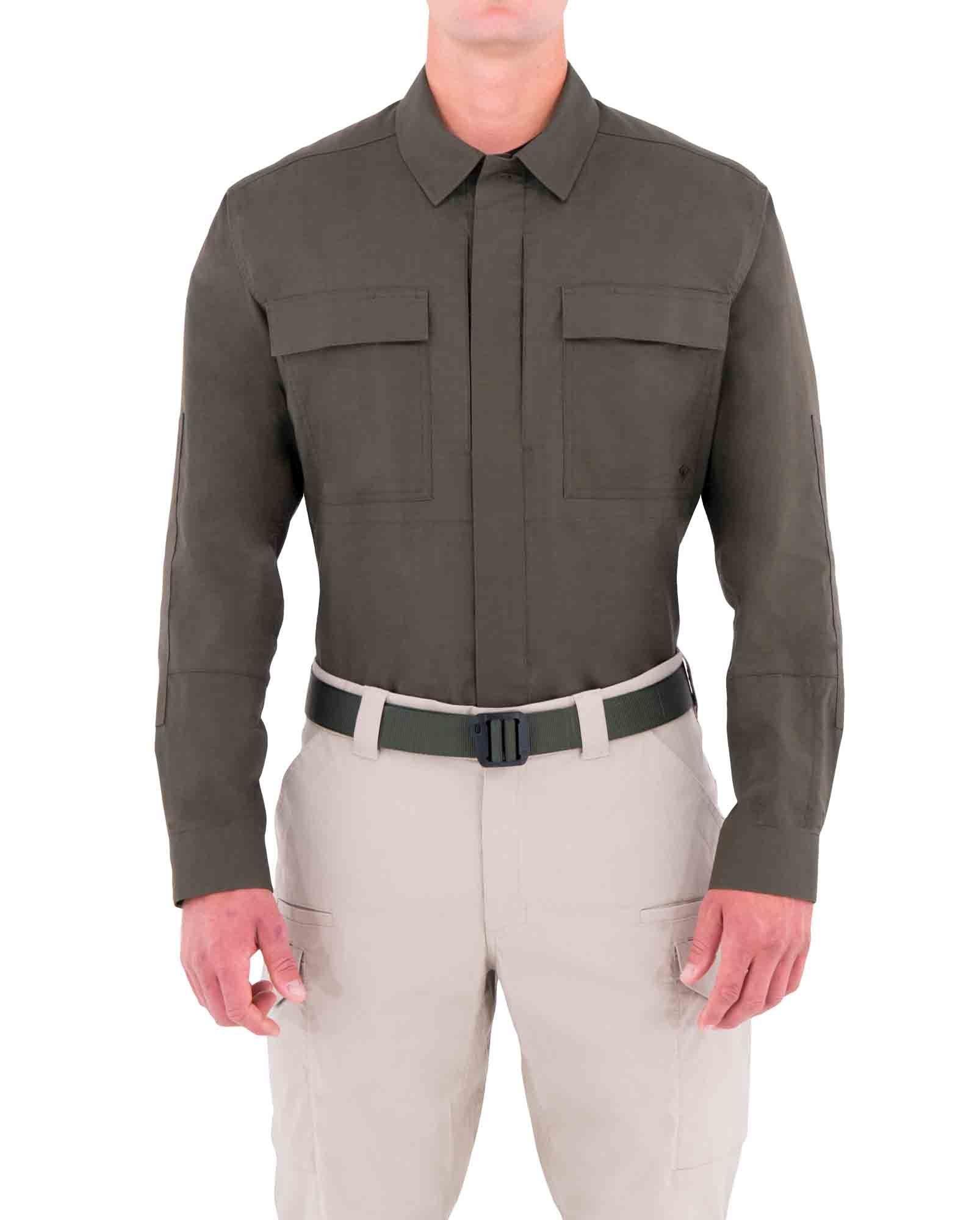 a583a1147849 First Tactical Men's Tactix Series Long Sleeve BDU Shirt - Uniforms -  Streicher's