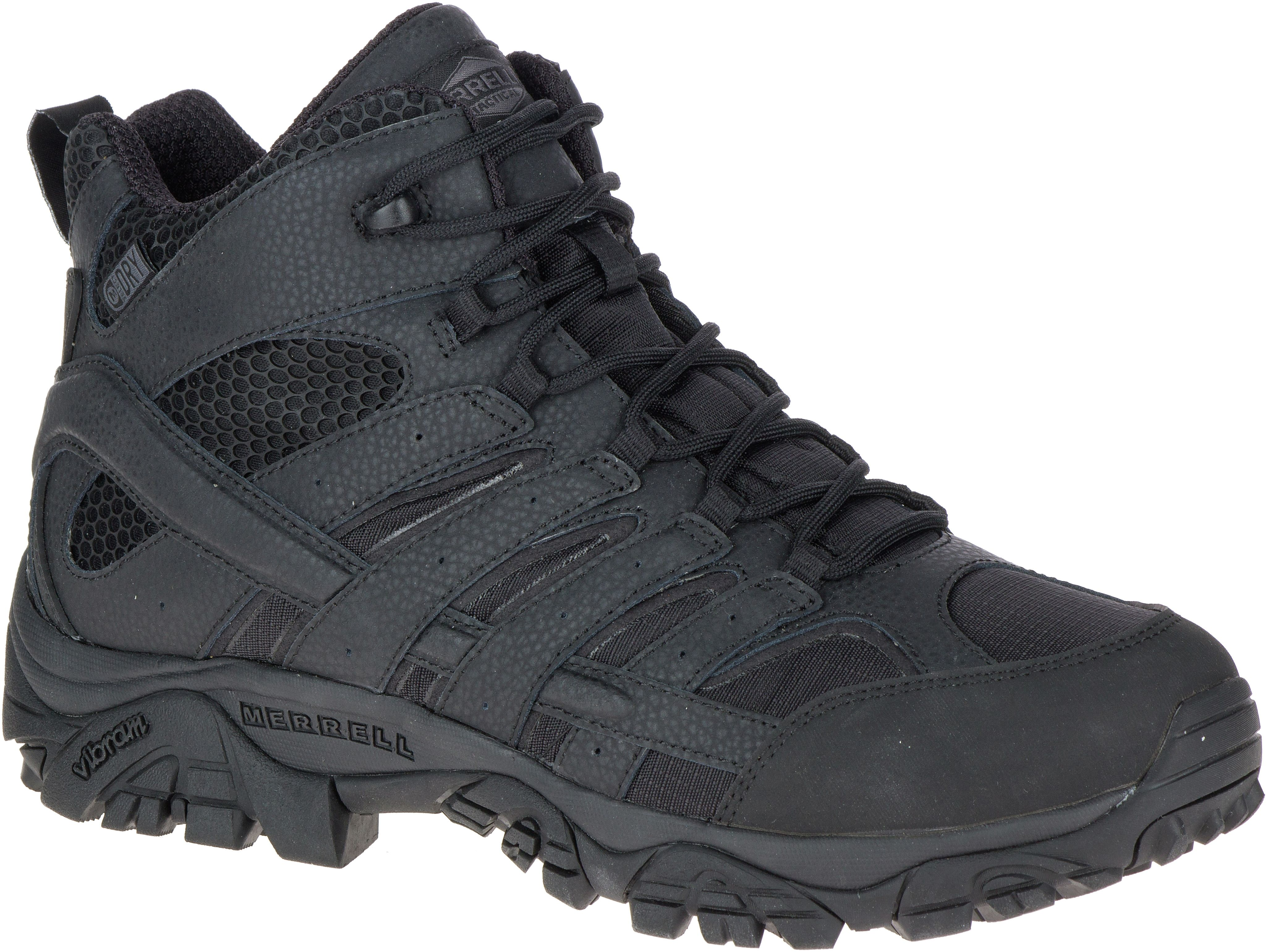 merrell womens moab 2 mid tactical waterproof boot red